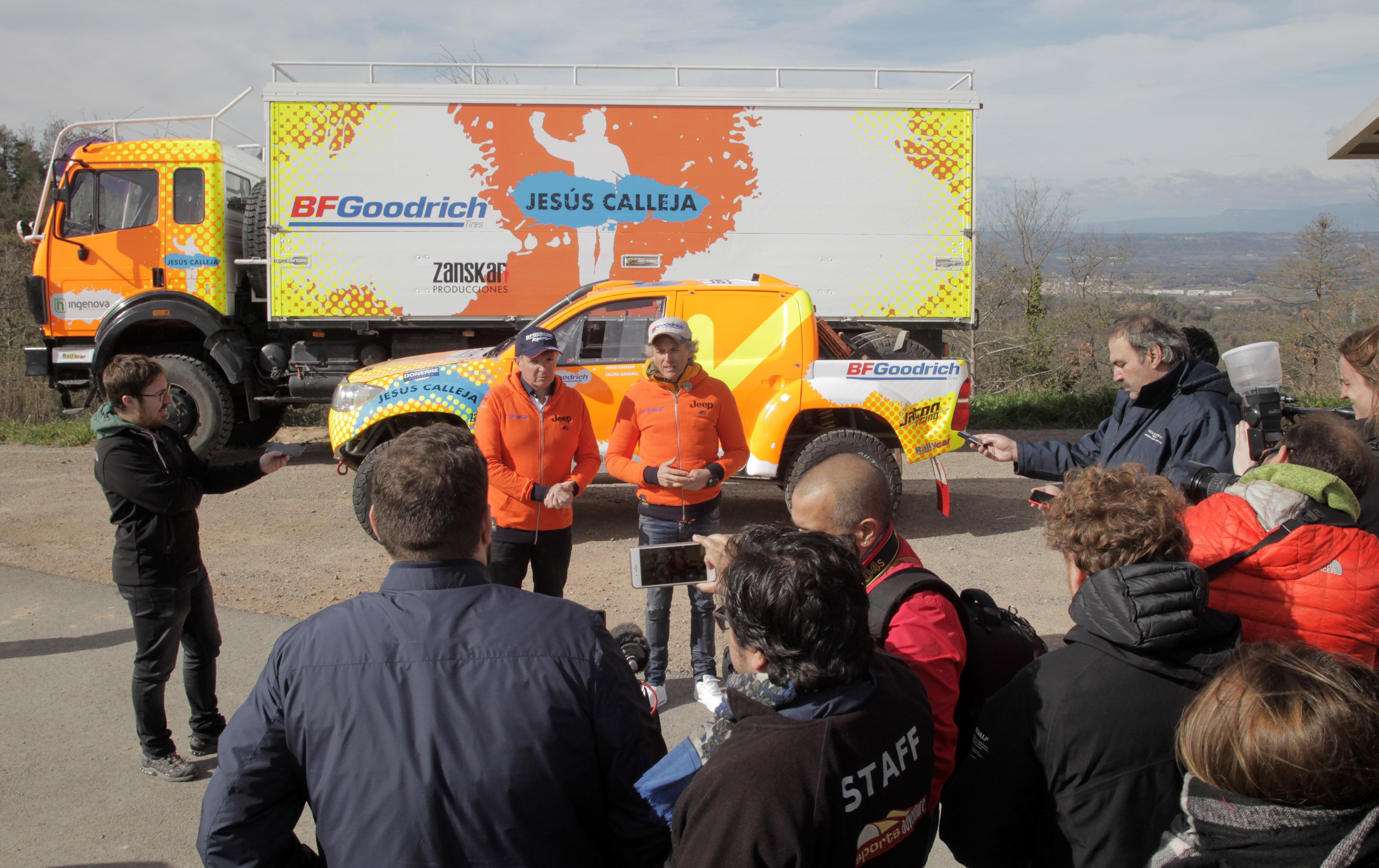 El Jesús Calleja Team Rallies de Zanskar Producciones echa a rodar