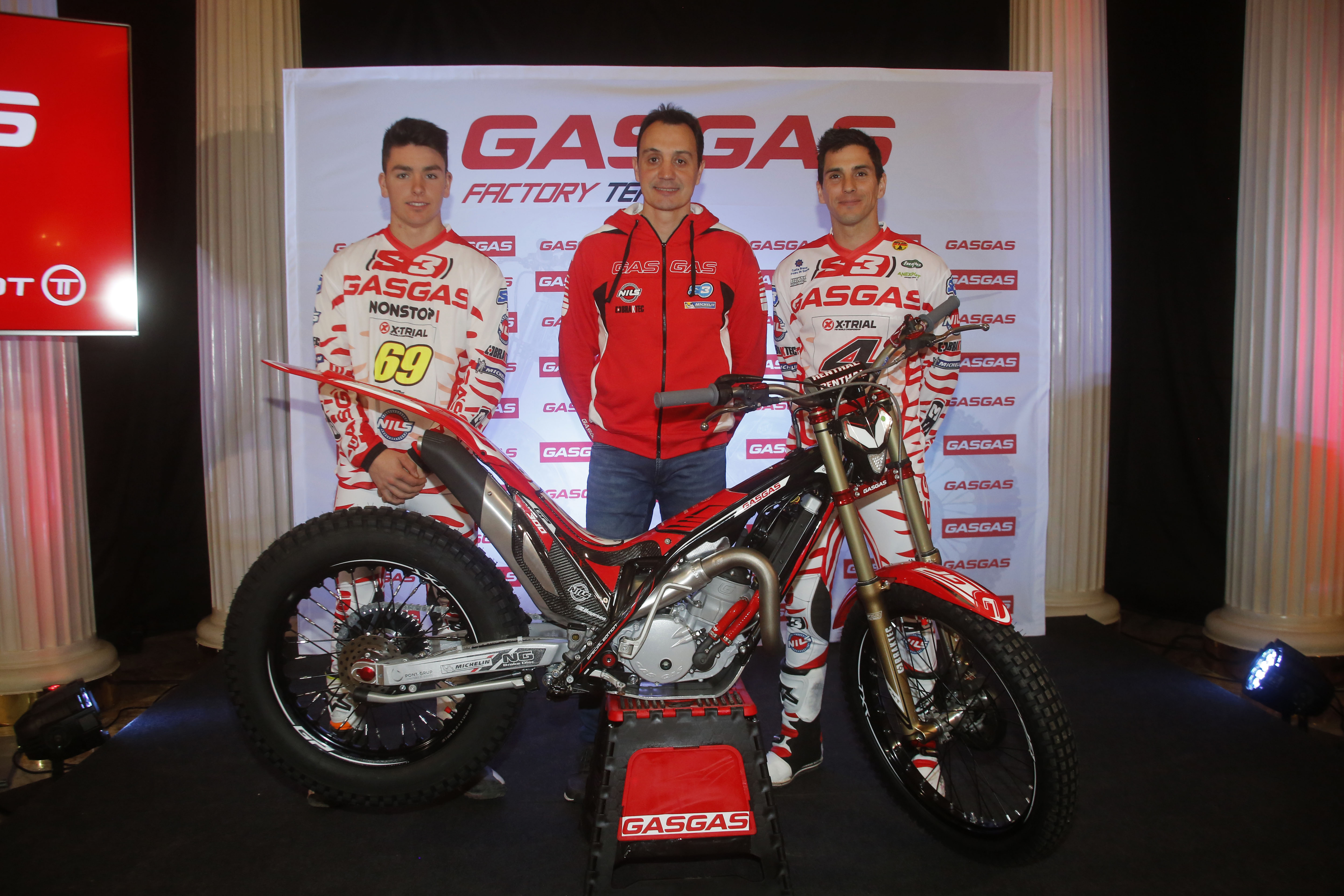 Torrot presents the 2018 GasGas Trial Factory Team with the addition of Jaime Busto and Jeroni Fajardo