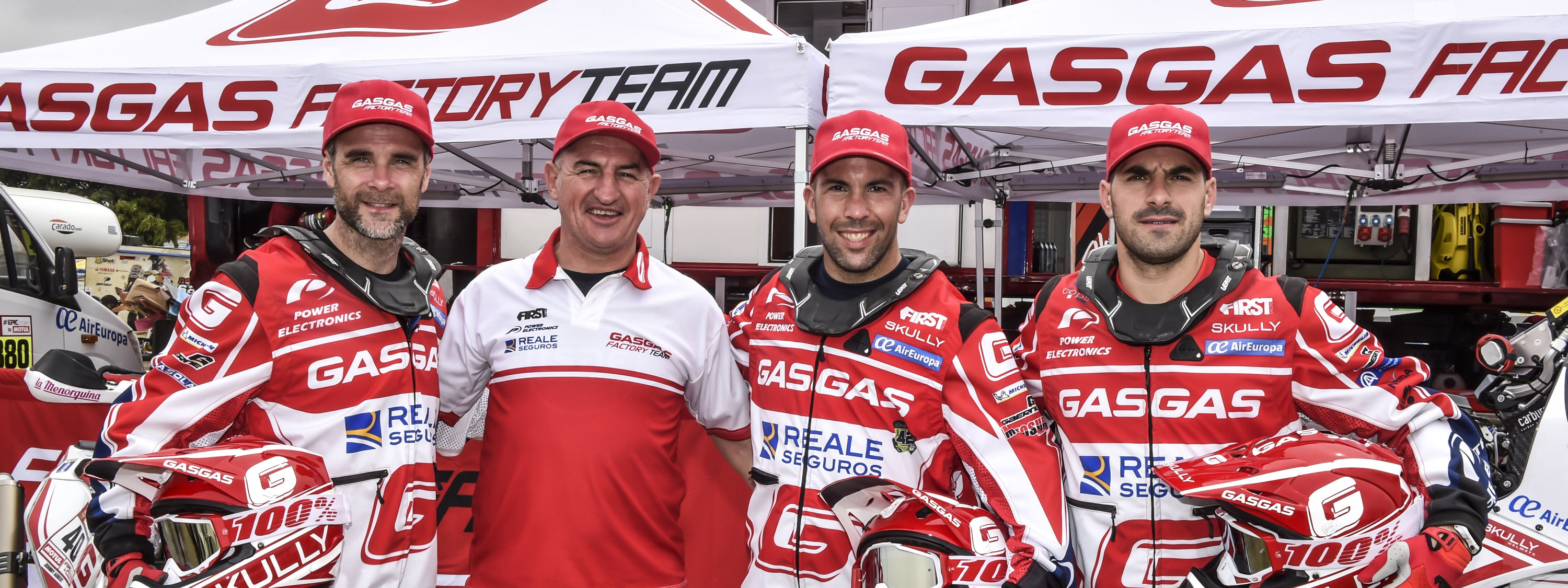 Torrot's GasGas Rally Team, ready for a return to the Dakar