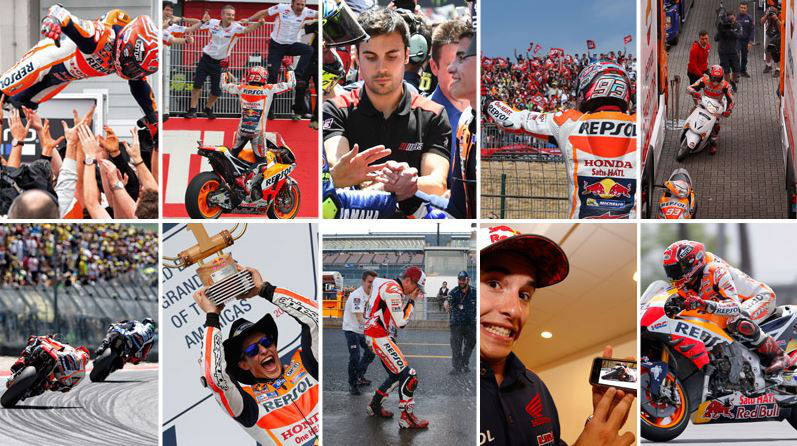 Marc Marquez's fifth World Championship in 10 images