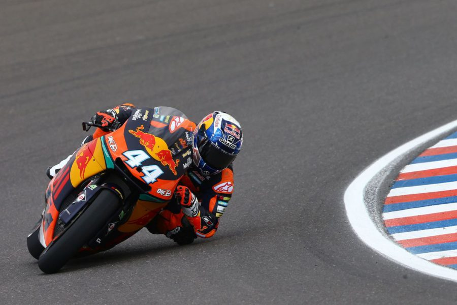 Miguel Oliveira and Red Bull KTM Ajo take first podium in Moto2